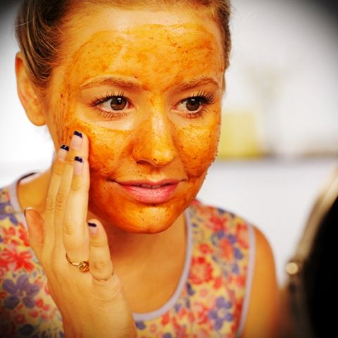 Dark Spots Treatment With Pumpkins