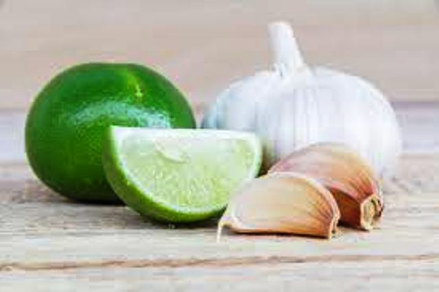 Garlic and Lime Juice
