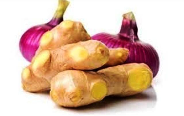 Ginger with Onion