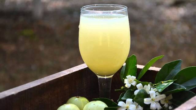 Amla Juice As Cooling Agent