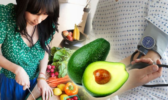 Avocado Reduces High Blood Pressure