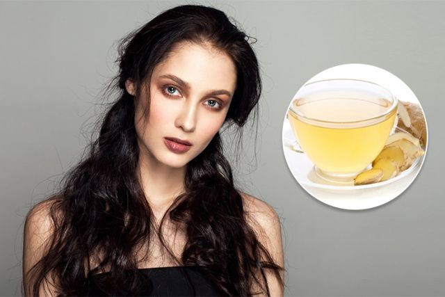 Ginger Tea Tackles Dryness Of Hair