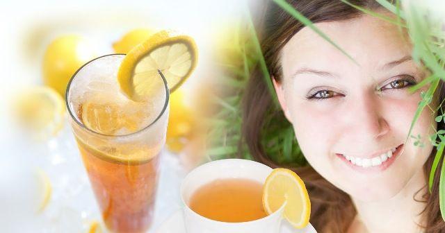 Lemon Tea For Detoxification