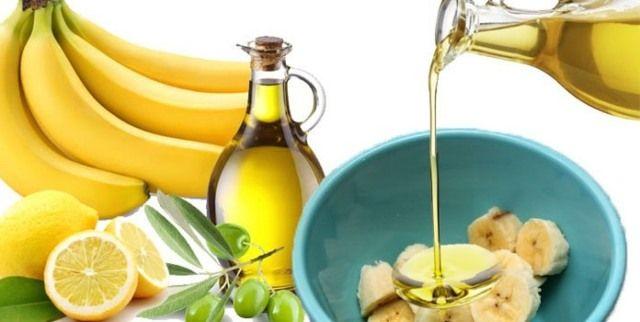 Olive-Oil-and-Banana-Hair-Mask