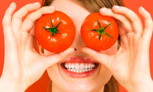 Tomatoes For Eyes And Teeth