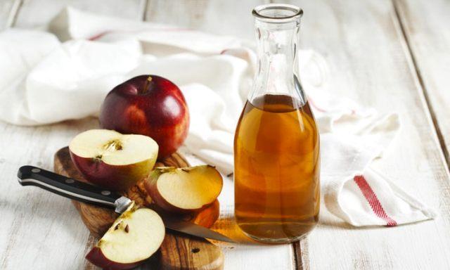 apple cider vinegar for split ends