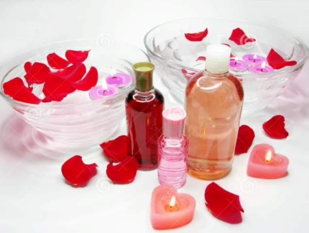 rosewater for split ends