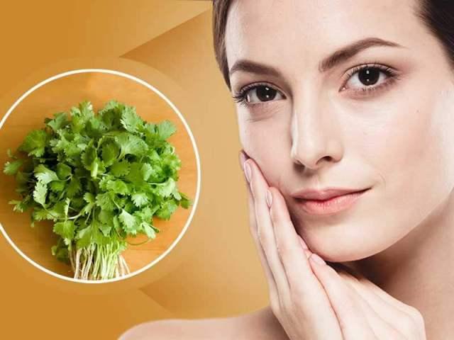Coriander Paste For Skin Rashes