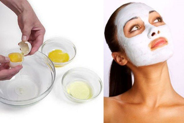 Egg Face Pack For Blackheads