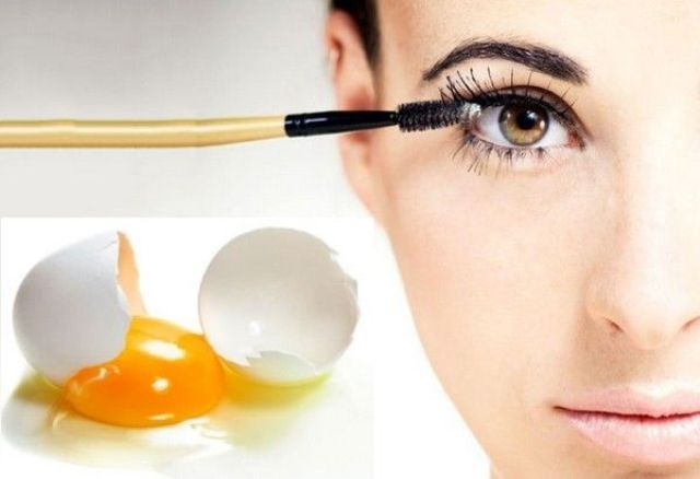 Egg For Healthy Eyelashes