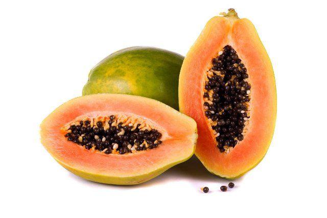 Papaya Removes Fungus